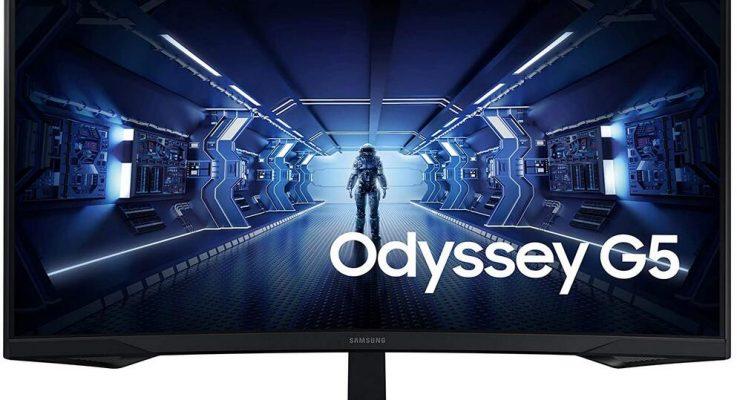 Samsung Odyssey G5 (LC32G55T) Test et Avis–32 Pouces Ecran PC Gaming Incurvé