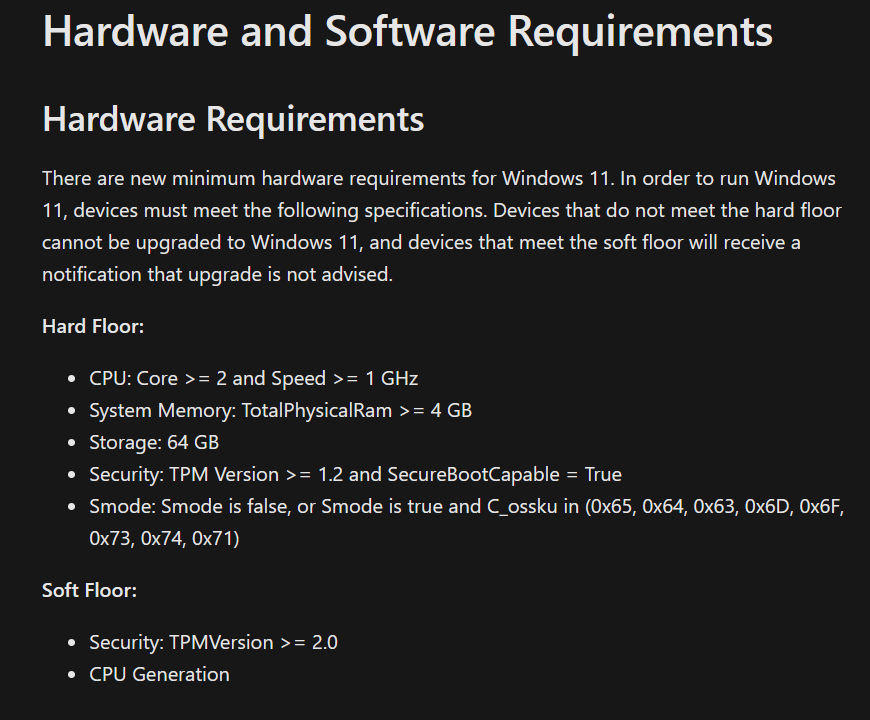 installer Windows 11 sur PC non compatible