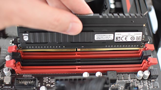 installer RAM