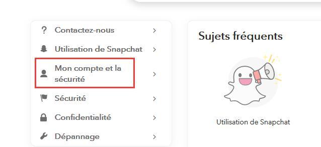 Récupérer un Compte Piraté sur Snapchat